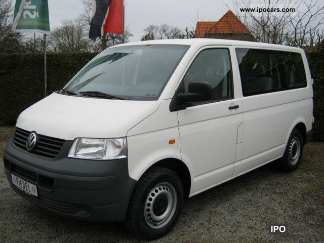 2004 volkswagen transporter t5 kombi 9 seats car photo and specs. Black Bedroom Furniture Sets. Home Design Ideas