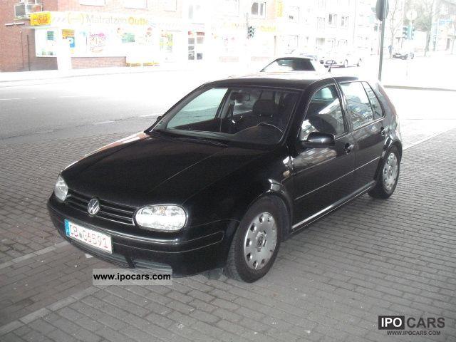 1998 volkswagen 4 1 6 golf highline car photo and specs. Black Bedroom Furniture Sets. Home Design Ideas