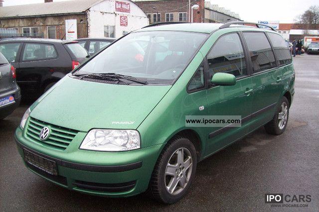 2000 Volkswagen  Sharan 1.8 5V Turbo New Comfort Line Family Mod Van / Minibus Used vehicle photo