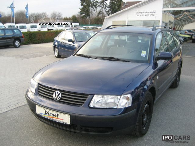 2000 volkswagen passat variant 1 9 tdi edition with climate car photo and specs. Black Bedroom Furniture Sets. Home Design Ideas