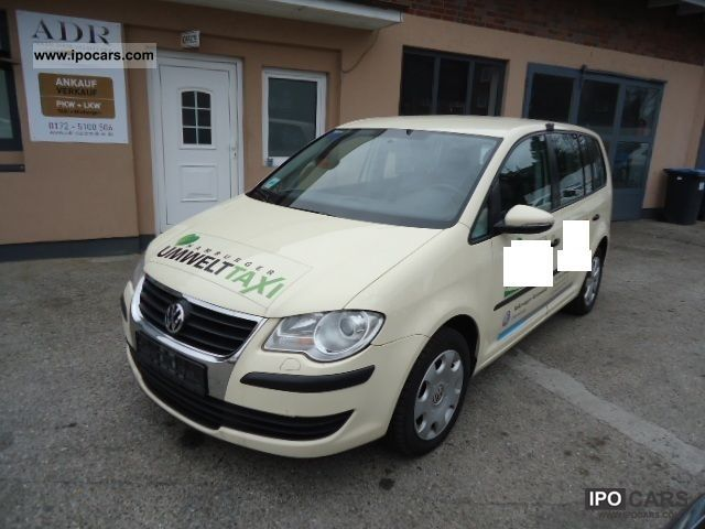 Volkswagen  Touran 1.4 TSI EcoFuel DSG * 1.Hand * 2009 Compressed Natural Gas Cars (CNG, methane, CH4) photo