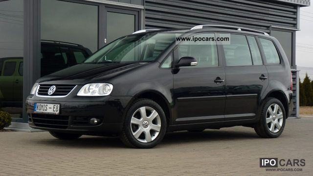 2006 volkswagen touran 2 0 tdi dsg 7 osob xenon climate control car photo and specs. Black Bedroom Furniture Sets. Home Design Ideas