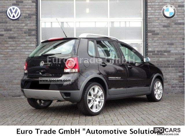 2007 Volkswagen  Polo 1.6 16v CrossPolo air / sunroof 32TKM Small Car Used vehicle photo