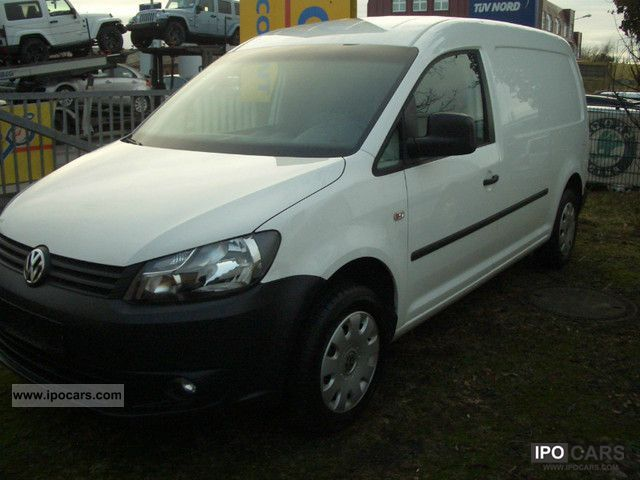 2011 Volkswagen  Caddy 1.6 TDI Maxi Delivery 2KN Estate Car Used vehicle photo