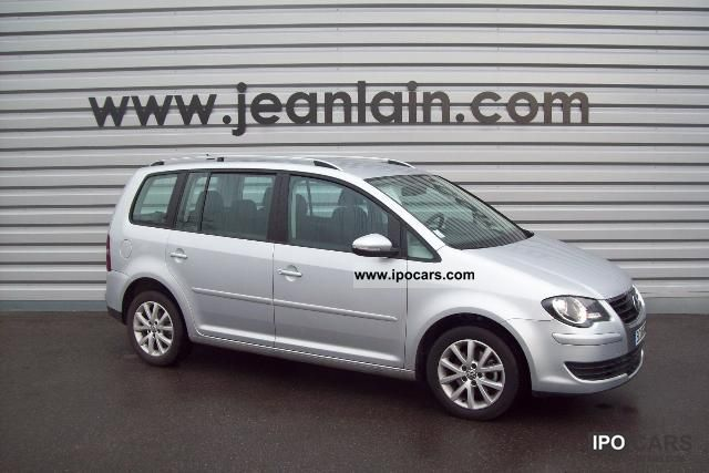 2010 Volkswagen  1.9 TDI 105 Touran 5P CONFORTLIN E N1 Van / Minibus Used vehicle photo