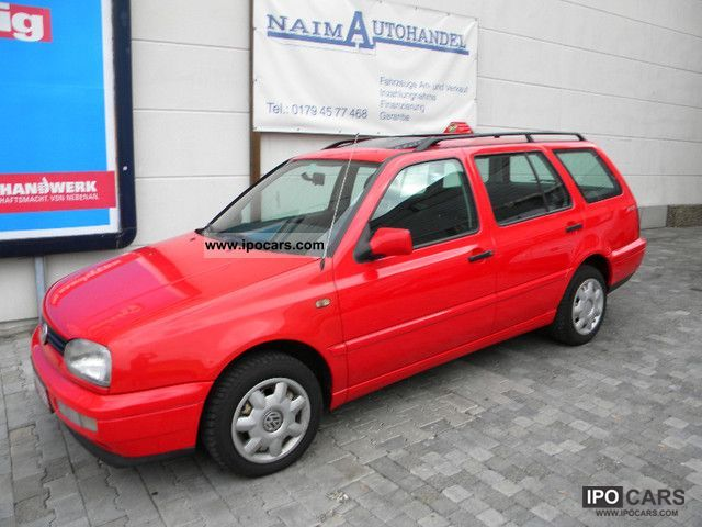 1997 Volkswagen  Golf Variant 1.8 Joker 'El.Schiebedach \ Estate Car Used vehicle photo