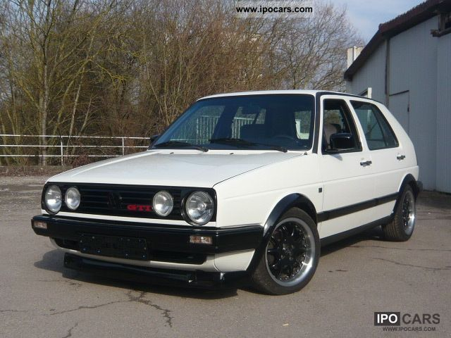 1989 Volkswagen Golf 2 \ - Car Photo and Specs