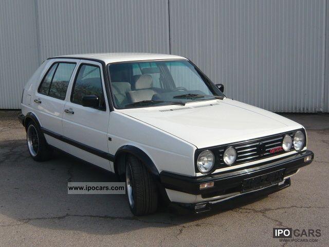1989 volkswagen golf 2 limousine used vehicle photo 2