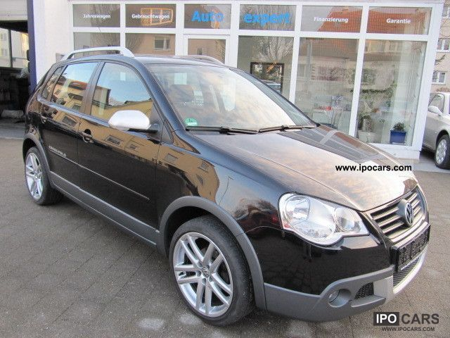 2008 Volkswagen  Polo 1.6 Cross/RCD200/Sitzheizung/1.Hand Small Car Used vehicle photo
