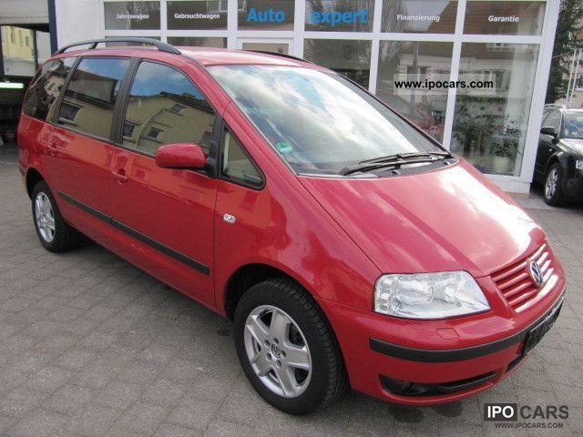 2003 Volkswagen  Sharan 1.8 5V Turbo Cruise / Xenon / PDC / heated seats Van / Minibus Used vehicle photo