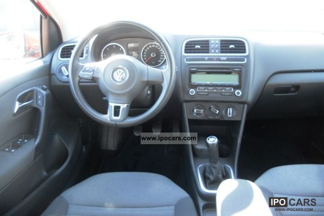 2009 volkswagen 1 6 tdi cr 75 fap confortline 5p polo car photo and specs. Black Bedroom Furniture Sets. Home Design Ideas