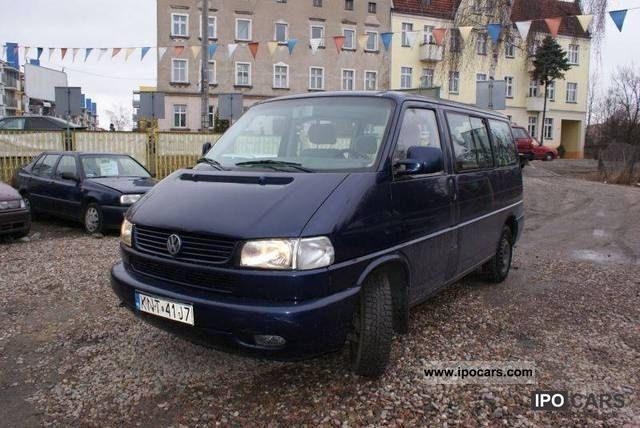 Volkswagen  Transporter CARAVELLA! ! ! 2000 Liquefied Petroleum Gas Cars (LPG, GPL, propane) photo