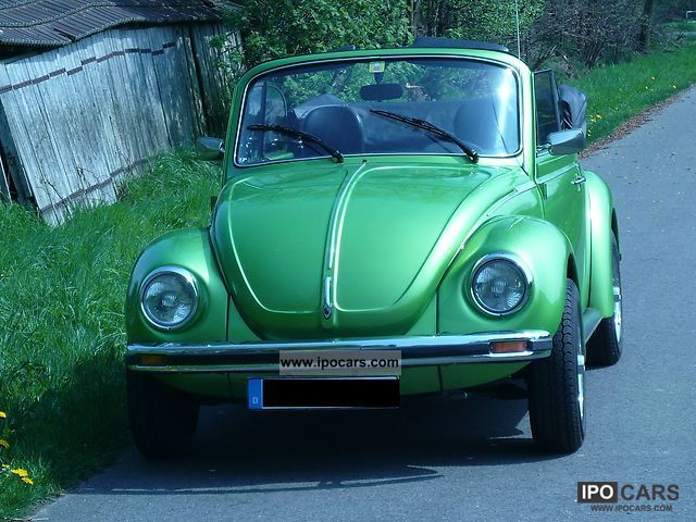 Volkswagen  Beetle Convertible 1303 1978 Vintage, Classic and Old Cars photo