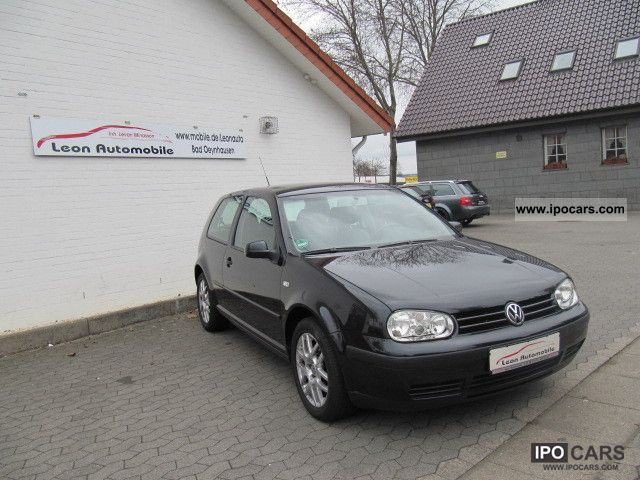 2003 Volkswagen  Golf 1.9 TDI Comfortline DPF leather one-hand Limousine Used vehicle photo
