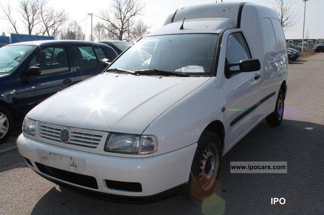 1999 Volkswagen Caddy TDI 9K9AN1 Truck ADMISSION Van Minibus Used Vehicle Photo