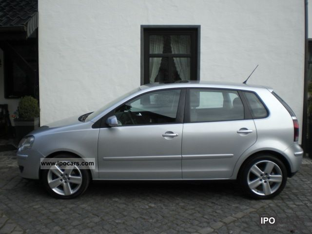 2005 volkswagen polo sport 1 4 16v line car photo and specs. Black Bedroom Furniture Sets. Home Design Ideas
