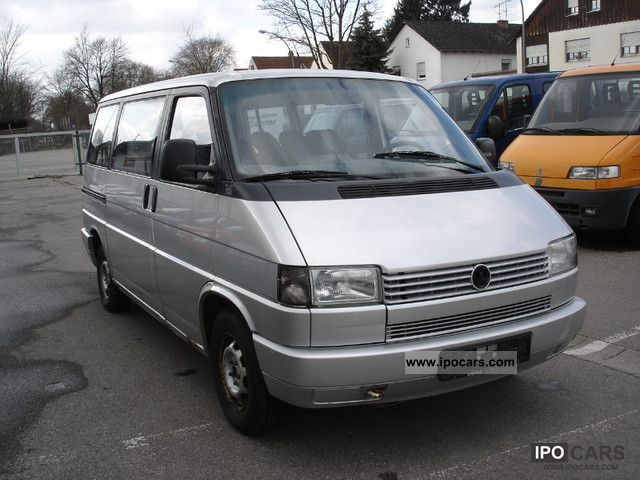 1993 volkswagen t4 caravelle 1 9  euro2 car photo and specs 2007 Volkswagen Polo 1985 Volkswagen Polo