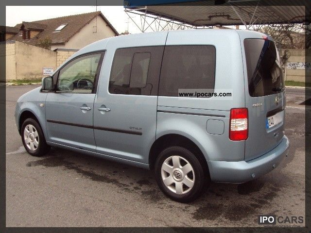 2009 volkswagen caddy life 1 9 tdi car photo and specs. Black Bedroom Furniture Sets. Home Design Ideas