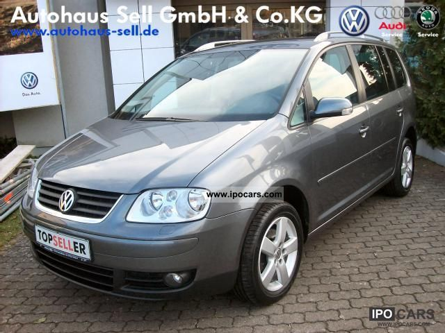 2005 volkswagen touran highline climate control heated seats trailer car photo and specs. Black Bedroom Furniture Sets. Home Design Ideas