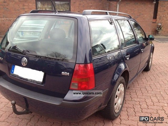 2004 volkswagen golf variant 1 9 sdi car photo and specs. Black Bedroom Furniture Sets. Home Design Ideas