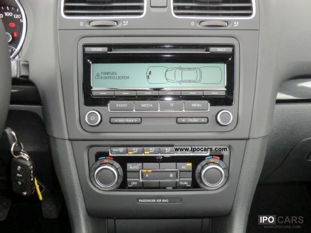 2010 Volkswagen Golf Comfortline Climate Control Radio