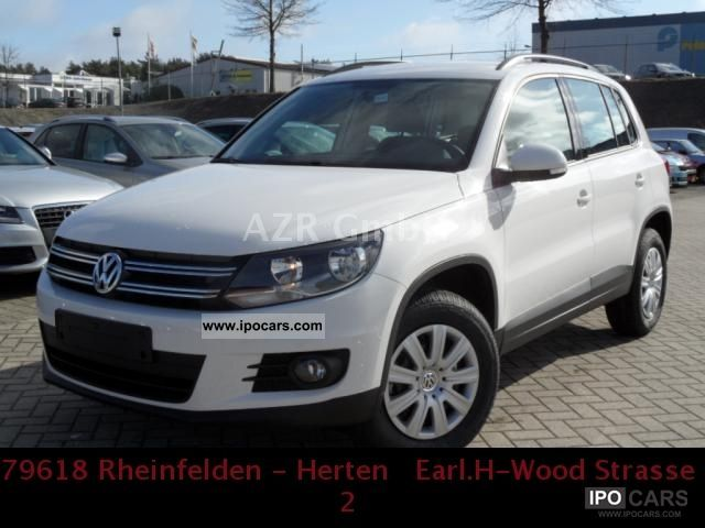 2012 Volkswagen  Tiguan 2.0 TDI DPF BlueMotion Technology & Trend Off-road Vehicle/Pickup Truck Employee's Car photo