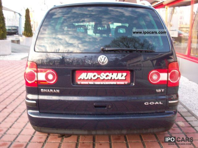 2004 volkswagen sharan 1 8t 1st goal hand car photo and specs. Black Bedroom Furniture Sets. Home Design Ideas