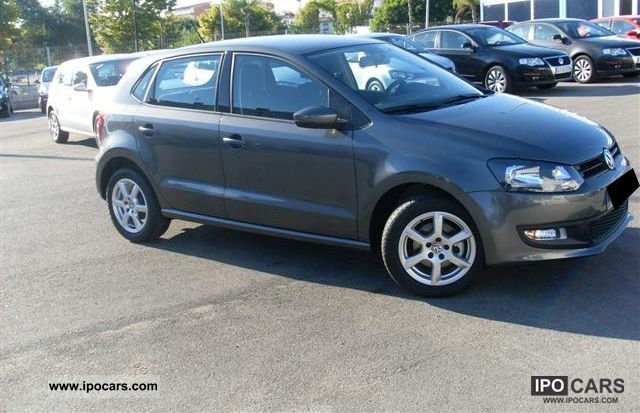 2011 volkswagen polo 1 4 85 trend car photo and specs. Black Bedroom Furniture Sets. Home Design Ideas