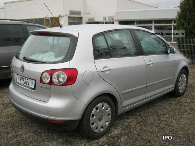 2006 volkswagen golf plus 1 6 fsi tour car photo and specs. Black Bedroom Furniture Sets. Home Design Ideas