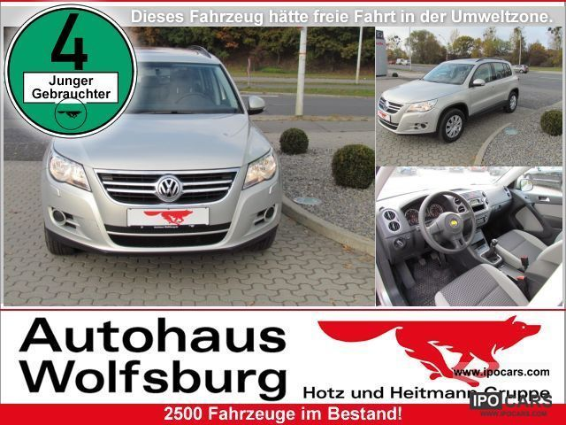 2011 Volkswagen  Tiguan 2.0 TDI DPF BlueMotion trend Fun Off-road Vehicle/Pickup Truck Used vehicle photo