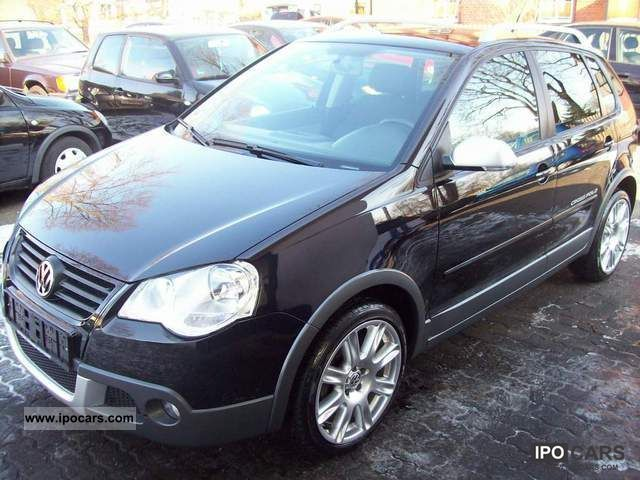 2008 volkswagen cross polo 1 2 automatic climate control car photo and specs. Black Bedroom Furniture Sets. Home Design Ideas