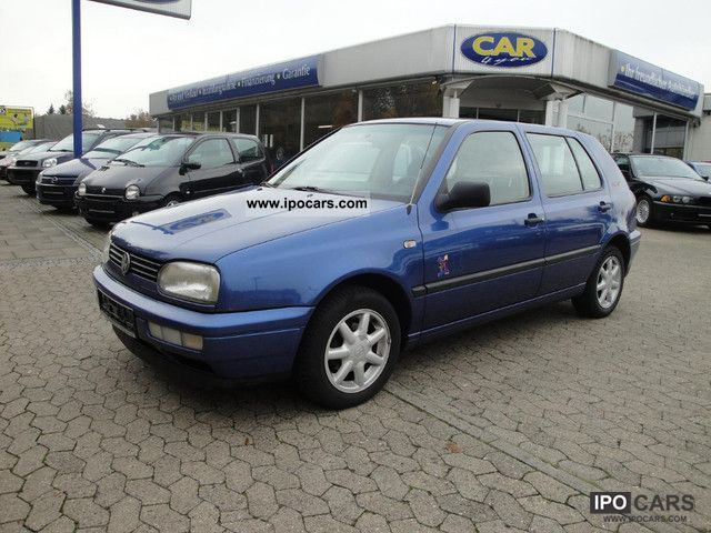 1996 Volkswagen  Golf 1.8 Movie 5 doors * Air conditioning * Limousine Used vehicle photo