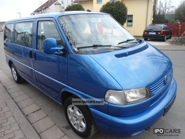 2002 Volkswagen  T4 TDI Multivan Atlantis / cooler / 1.Hand Van / Minibus Used vehicle photo
