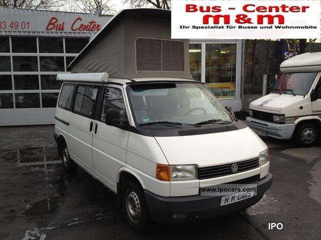 1991 Volkswagen  California T4 2,4-D solar panel heater towbar Van / Minibus Used vehicle photo