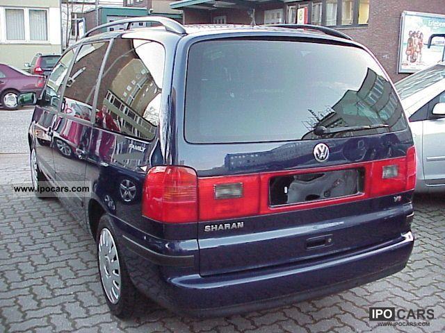 2003 volkswagen sharan 2 8 v6 comfortline family klimaaut. Black Bedroom Furniture Sets. Home Design Ideas