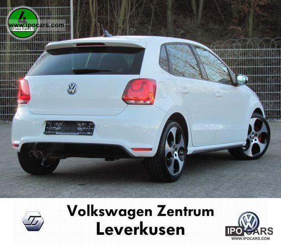 2011 Volkswagen Polo GTI 1.4 TSI DSG SHZ AIR NAVI XENON