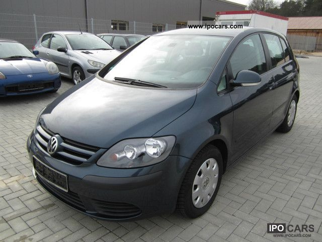 Volkswagen  Golf Plus 1.4 Trendline * LPG GAS climate control * 2006 Liquefied Petroleum Gas Cars (LPG, GPL, propane) photo