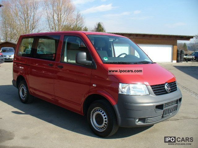 2008 volkswagen transporter t5 kombi klimafh funkzv zuheiz car photo and specs. Black Bedroom Furniture Sets. Home Design Ideas