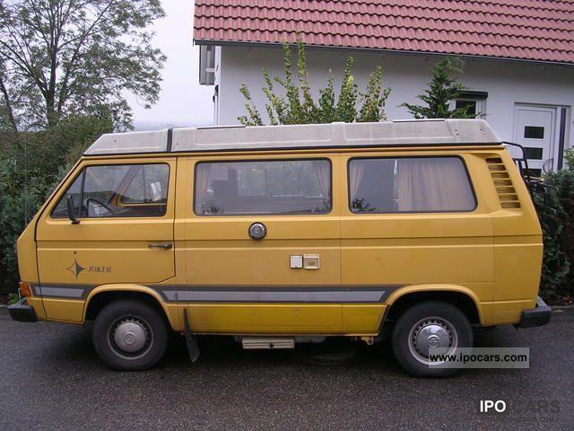 1980 volkswagen t3 westfalia joker car photo and specs