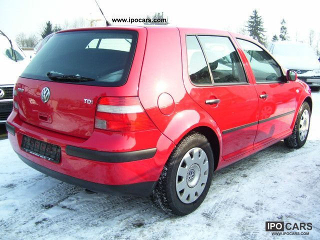 2003 Volkswagen Golf 1.9 TDI Ocean - Car Photo and Specs