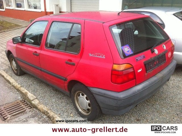 1994 volkswagen golf iii 1 6 cl europe with webasto heater car photo and specs. Black Bedroom Furniture Sets. Home Design Ideas