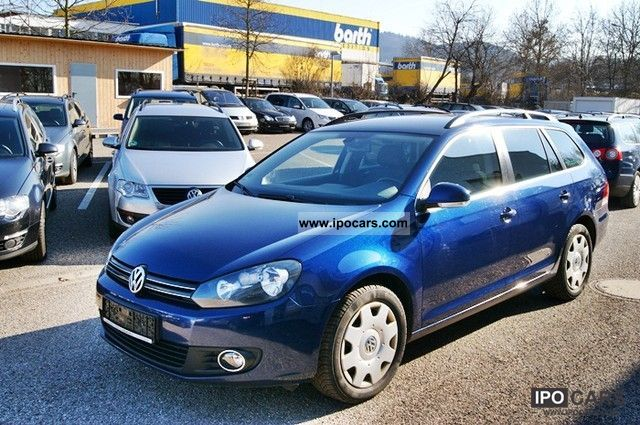 2010 volkswagen golf 6 variant 2 0 tdi comfortine navi dvd gra car photo and specs. Black Bedroom Furniture Sets. Home Design Ideas