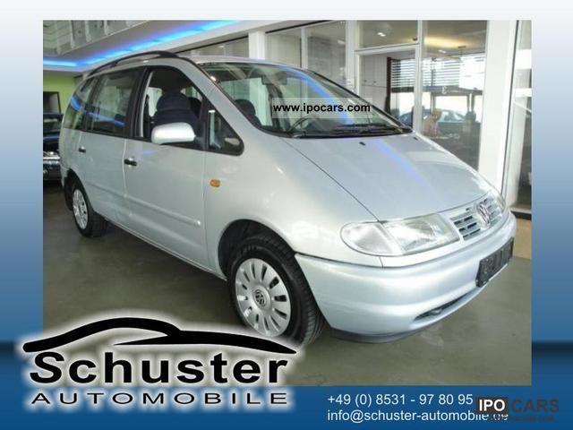 1998 Volkswagen  Sharan 2.0 Comfortline + SHZ + APC Van / Minibus Used vehicle photo