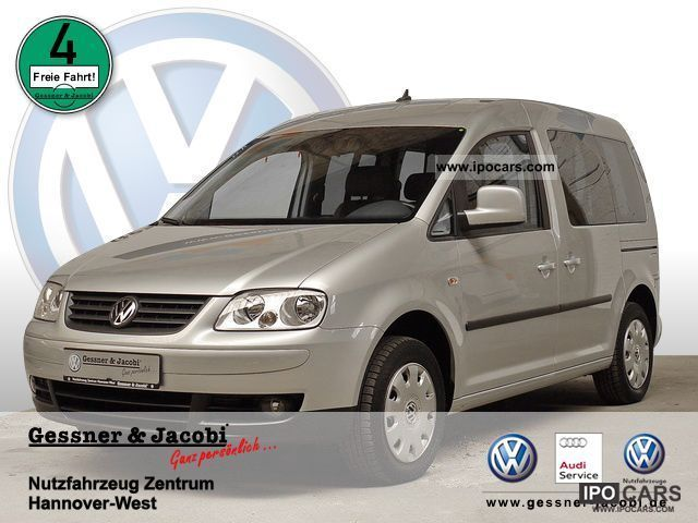 Volkswagen  Caddy Life Family (power windows) 2007 Compressed Natural Gas Cars (CNG, methane, CH4) photo