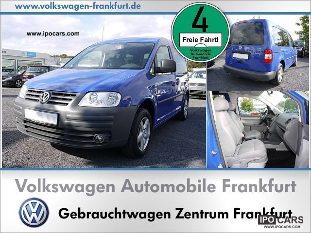 Volkswagen  Caddy Life 2.0 BiFuel climate 2007 Compressed Natural Gas Cars (CNG, methane, CH4) photo