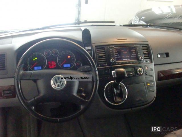 2005 Volkswagen T5 Multivan Highline Navi-leather-automatic LM - Car ...