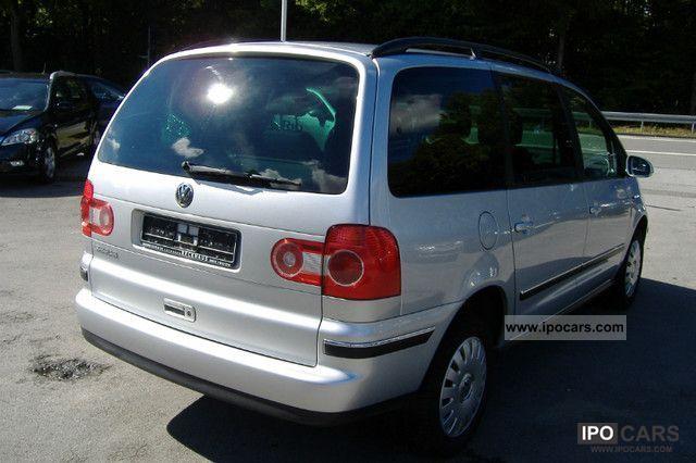 2006 volkswagen sharan 2 0 comfortline car photo and specs. Black Bedroom Furniture Sets. Home Design Ideas