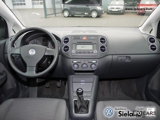 2006 volkswagen golf plus trendline automatic air conditioning trailer hitch car photo and specs. Black Bedroom Furniture Sets. Home Design Ideas