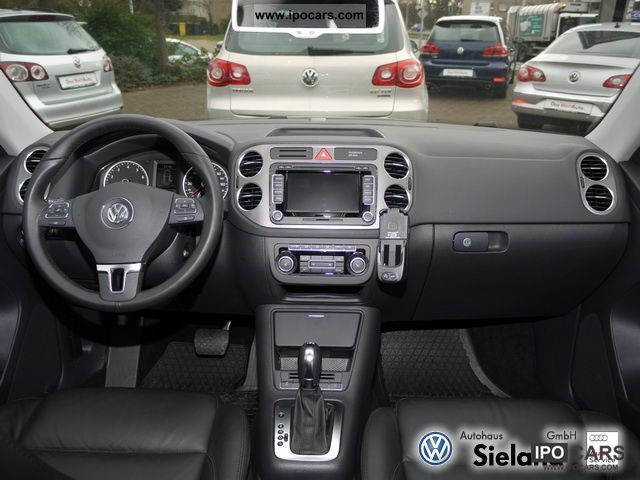 2011 Volkswagen Tiguan 2.0 TSI 4Motion Sport + Style, Park Pilot, - Car Photo and Specs