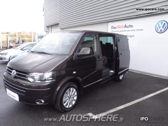 2011 volkswagen multivan 2 0 carat tdi140 fap dsg car photo and specs. Black Bedroom Furniture Sets. Home Design Ideas
